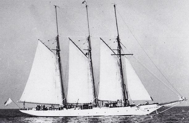 Shenandoah when she was known as 'Atlantide'