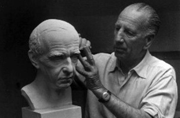 Viggo Jarl, philanthropist, sculptor and previous owner of Shenandoah