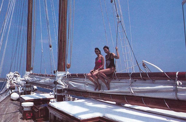 Shenandoah has always provided ample space for her fortunate guests to enjoy fine weather