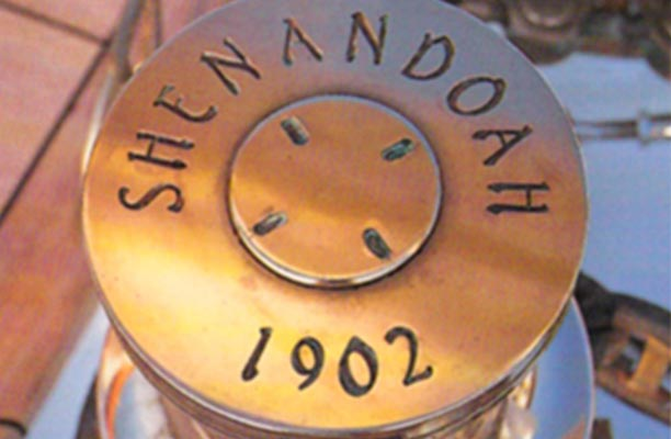 Philip Bommer ensured Shenandoah's brass once again glowed in the sunlight