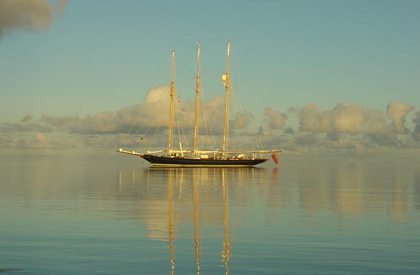 On board Shenandoah you can glimpse the world through the sepia lens of the past